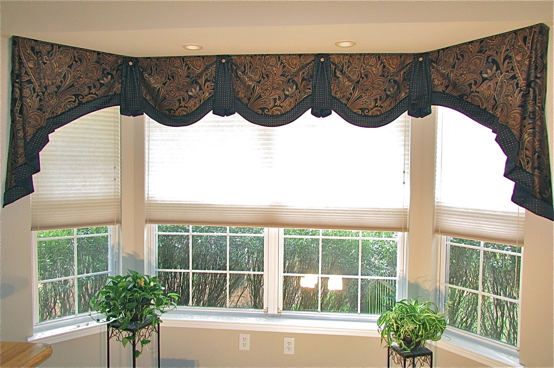 Superior Home Office Window Treatment Bay Window